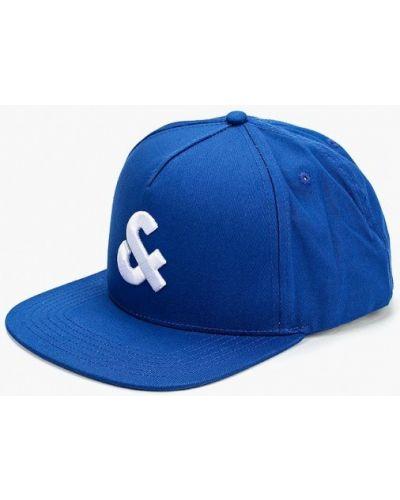 Синяя бейсболка Jack & Jones