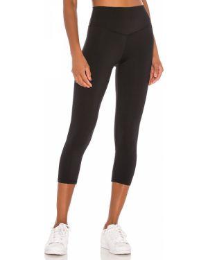 Czarne spodnie z nylonu Lovewave