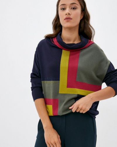 Синяя свитер осенняя Franco Vello