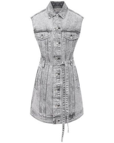 Джинсовое платье - серое Rag&bone