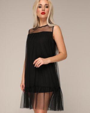 Вечернее платье на пуговицах коктейльное Ellcora