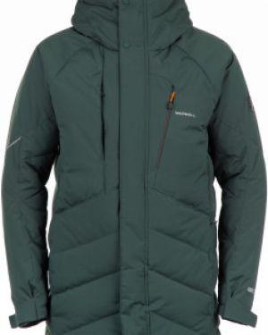 Спортивная прямая зимняя куртка на молнии с карманами Merrell