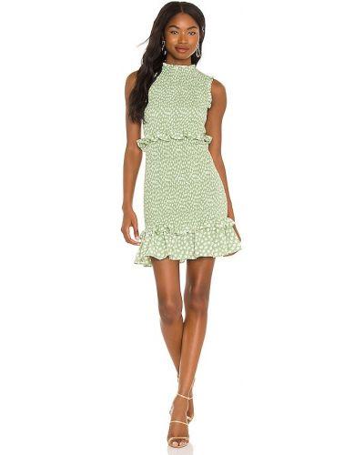 Белое текстильное платье мини на молнии Likely