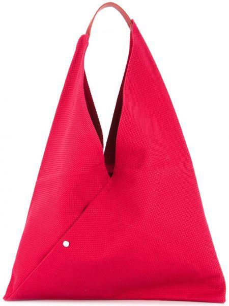 Красная сумка-тоут Cabas