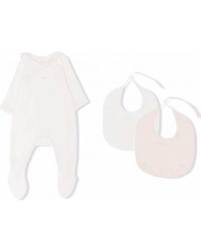 Piżama z długimi rękawami - biała Chloé Kids