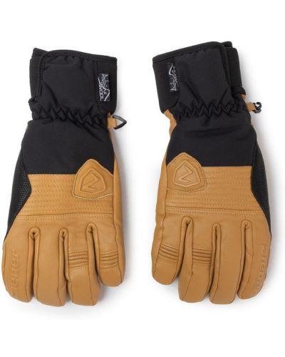 Rękawiczki narciarskie - brązowe Ziener