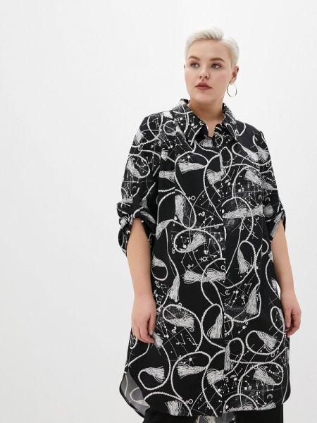 Черное платье Darissa Fashion