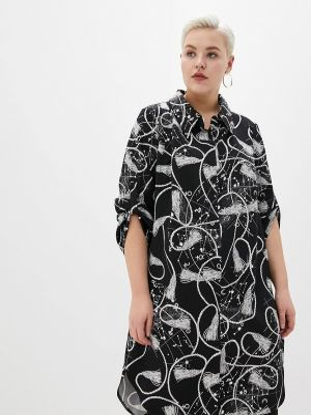 Туника - черная Darissa Fashion