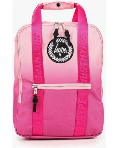 Розовый рюкзак городской Hype