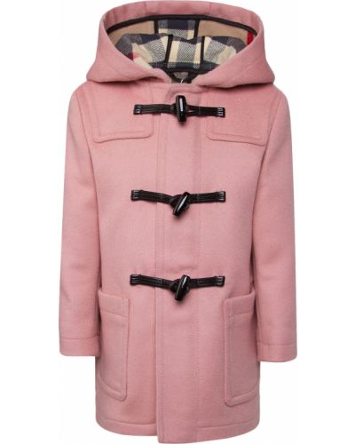 Пальто - розовое Burberry