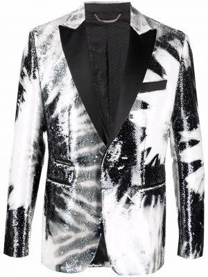 Пиджак с пайетками - черный Philipp Plein