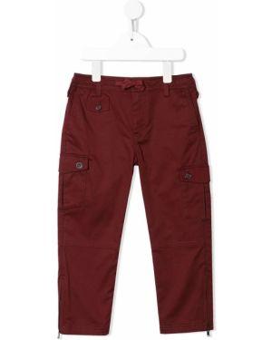 Spodnie z kieszeniami elastyczne Dolce & Gabbana Kids
