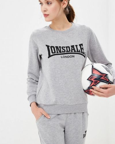 Толстовка серая Lonsdale