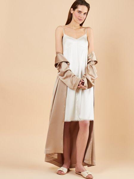 Платье миди платье-комбинация ажурное 12storeez