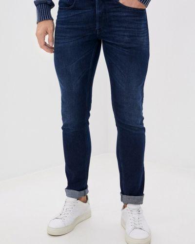 Синие зауженные джинсы-скинни Replay