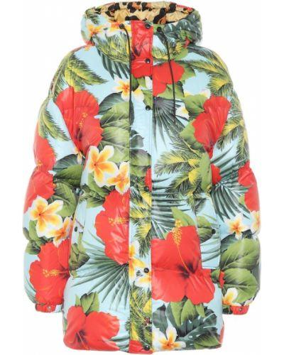 Куртка с цветочным принтом Moncler Genius