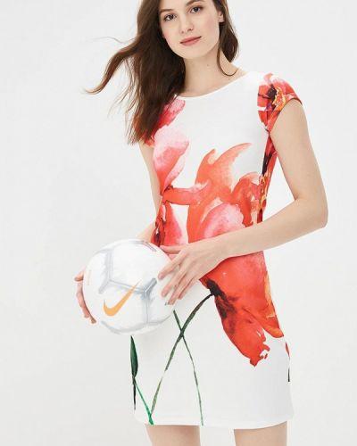 Белое платье весеннее Bruebeck