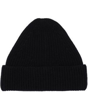 Czarny czapka beanie wełniany Falke