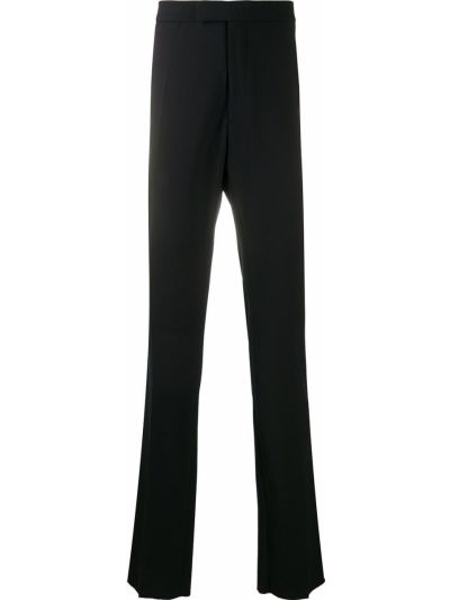 Czarne spodnie bawełniane Raf Simons