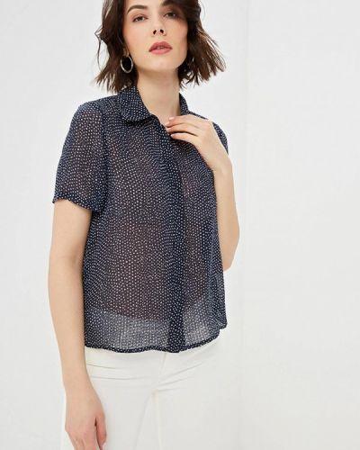 Блузка с коротким рукавом синяя весенний Vero Moda