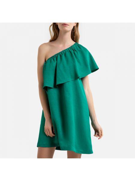 Платье из вискозы трапеция La Redoute