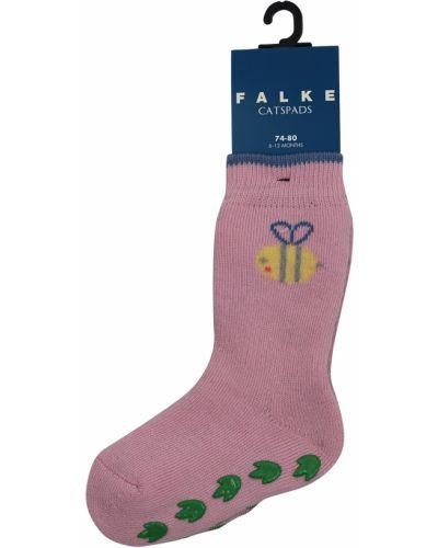 Розовые хлопковые носки Falke