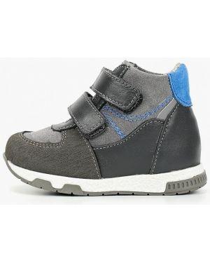 Ботинки серые котофей