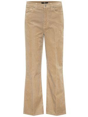 Джинсовые джинсы 7 For All Mankind