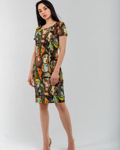 Платье в цветочный принт Modniy Oazis