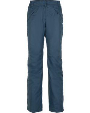 Прямые синие теплые брюки сноубордические Termit