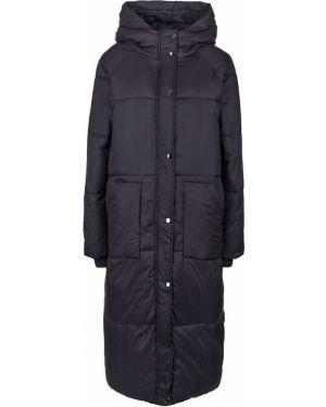 Длинная куртка демисезонная черная B.young