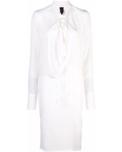 Платье миди средней длины - белое Vera Wang