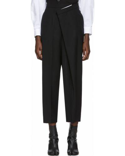 Spodnie srebrne - czarne Enfold