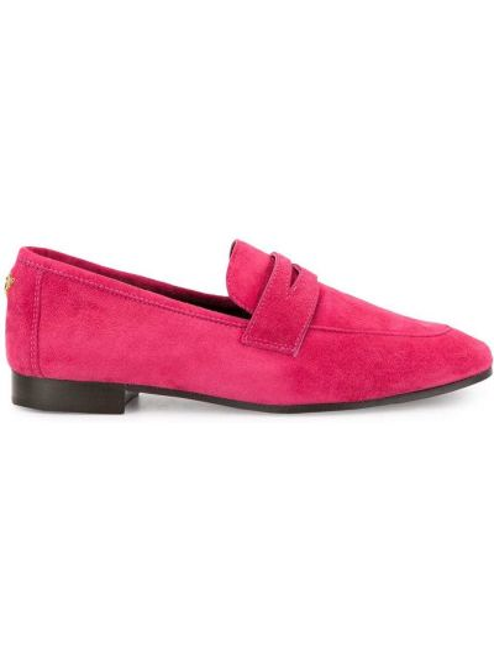 Klasyczne loafers zamszowe płaska podeszwa Bougeotte