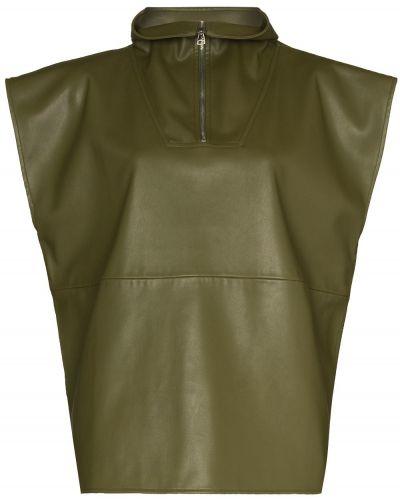 Зеленая жилетка без рукавов Frankie Shop
