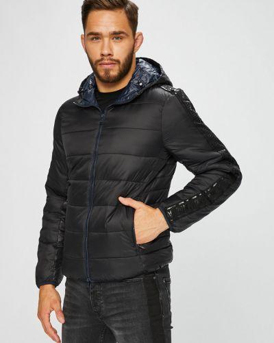 Утепленная куртка с капюшоном укороченная Armani Exchange