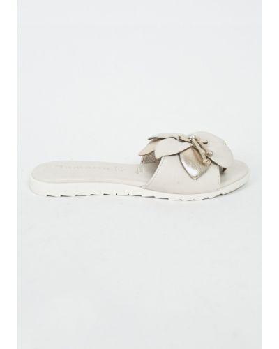 Серые сандалии кожаный Tamaris