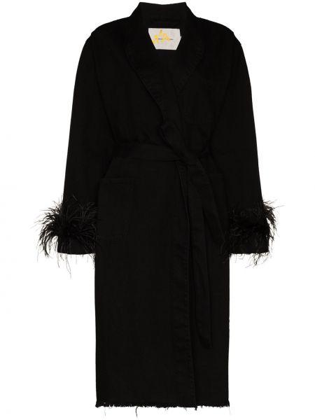 Черное пальто Marques'almeida