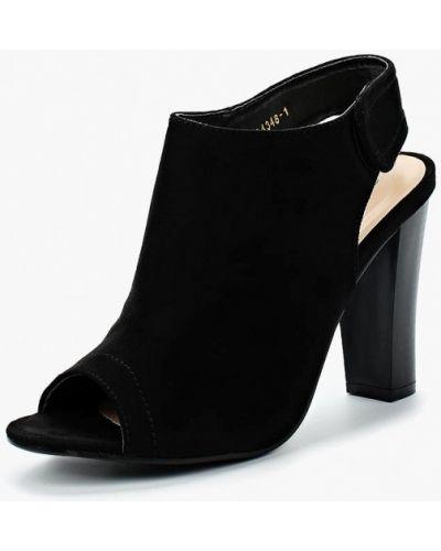 Босоножки на каблуке замшевые Queen Vivi