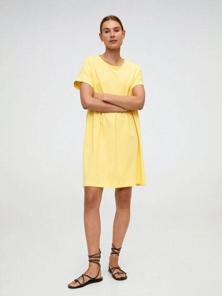 Платье футболка весеннее Mango