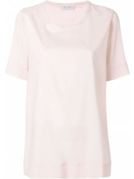 Шелковая блузка - розовая Le Tricot Perugia