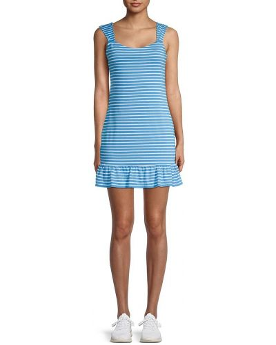 Приталенное платье мини с нашивками без рукавов Bcbgeneration