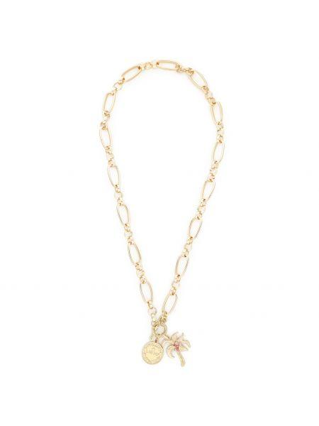 Żółty złoty łańcuch ze złota Liu Jo