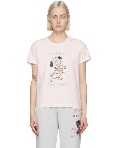Белая рубашка с короткими рукавами с воротником Marc Jacobs