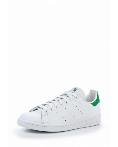 Белые кеды резиновые Adidas Originals
