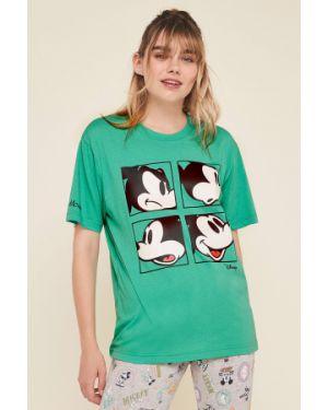 Рубашка с принтом пижамная Undiz