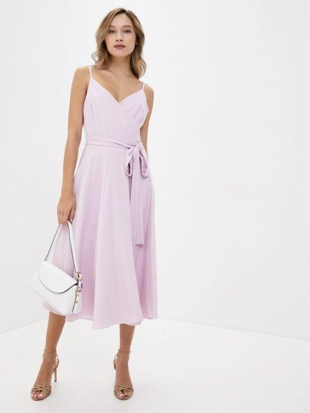 Однобортное розовое платье Toryz