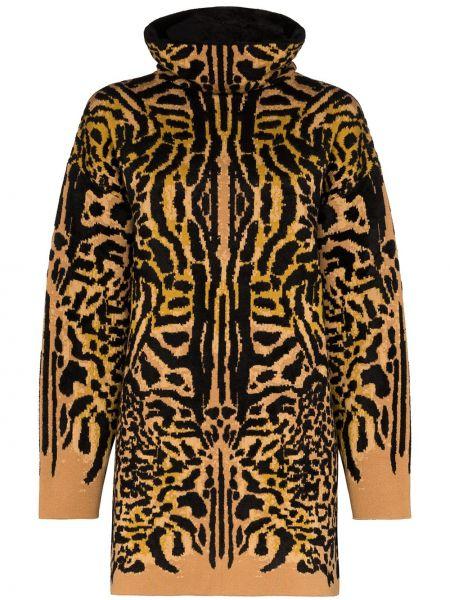 Свитер длинный со спущенным плечом Givenchy