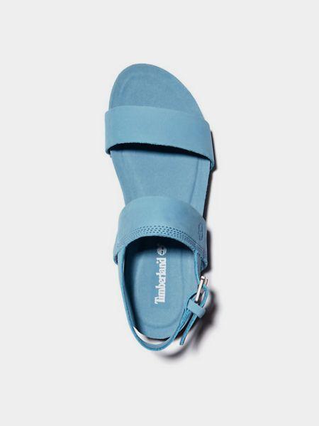 Синие сандалии Timberland