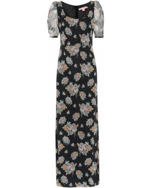 Платье макси с цветочным принтом Brock Collection
